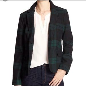Plaid Academy Blazer (Gap)